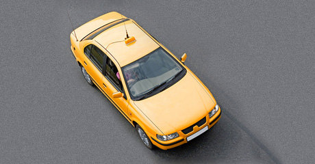 Mid Island Taxi Corp'sYellow cab